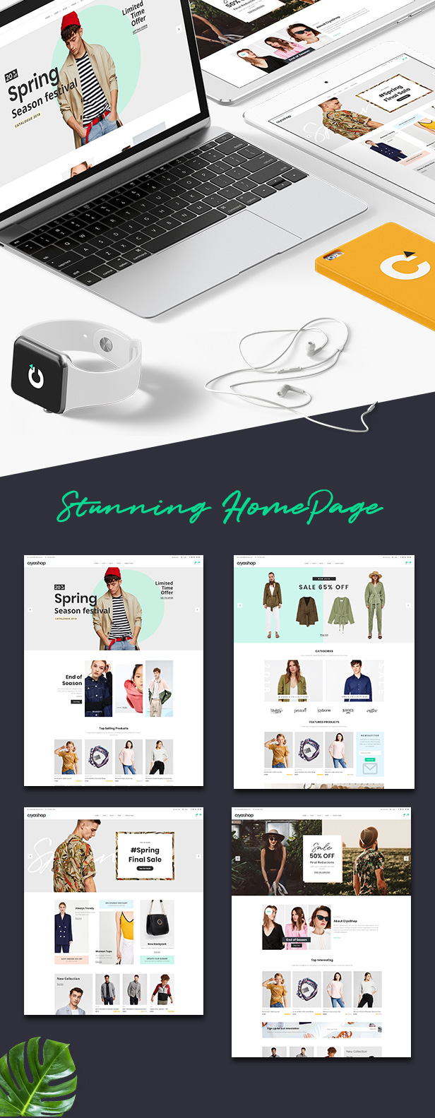 CiyaShop - Multi-Purpose eCommerce React Template - 7